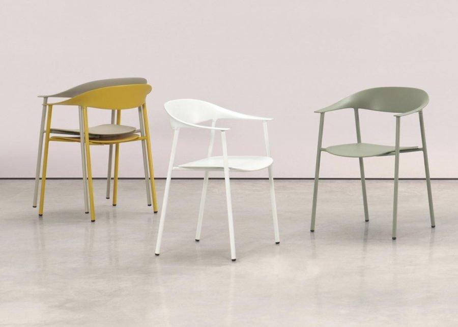 silla Arum gama de colores