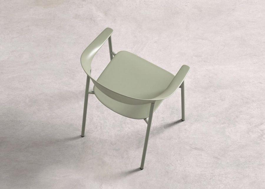 silla Arum gama de color verde