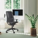 silla peper negra home office