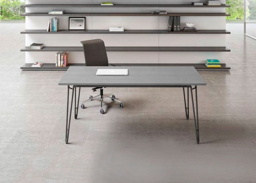 mesa wire operativa de oficina