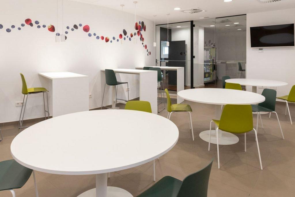 Zona office Daifressh Valencia