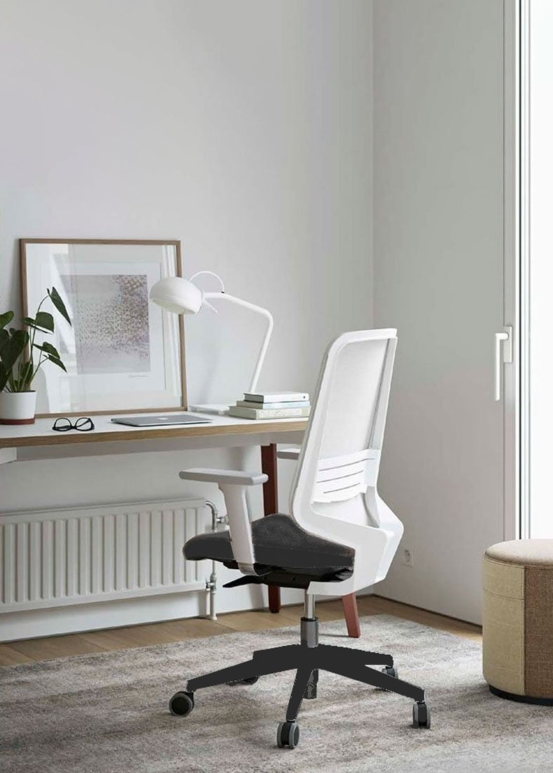 Silla DOT.HOME White Edition home office