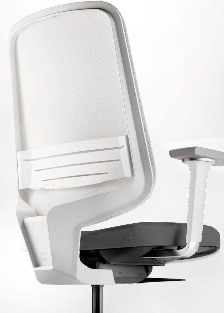 Silla DOT.HOME White Edition soporte lumbar