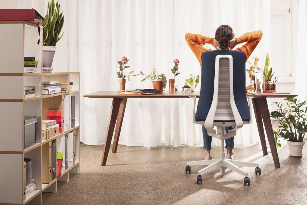 sillas ergonómicas evitan dolores de espalda