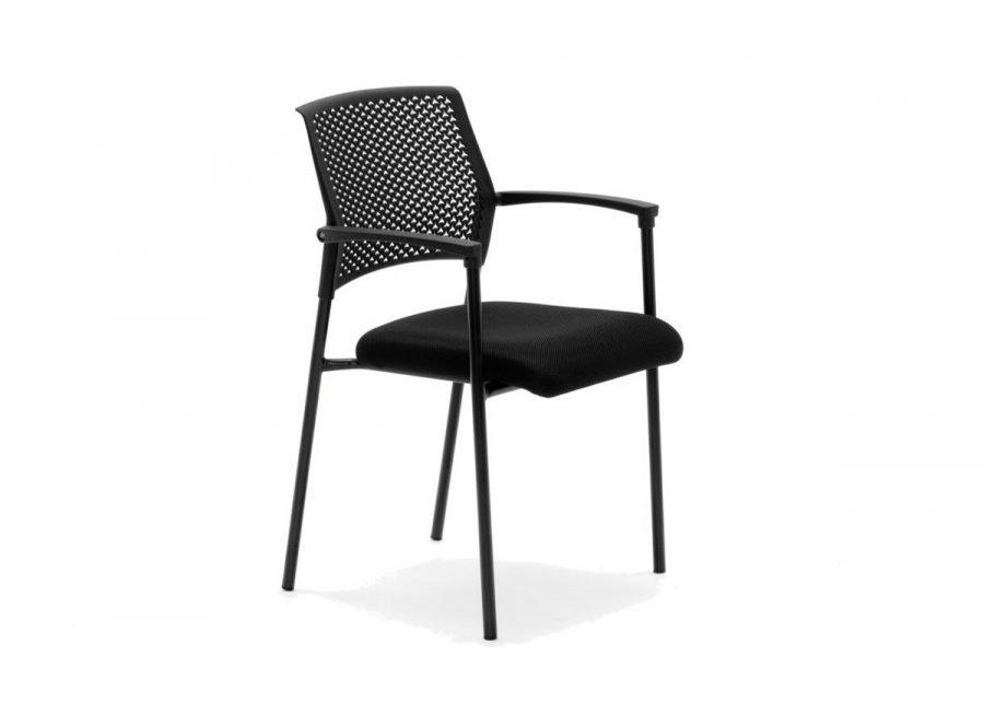 silla Manina apilable de confidente