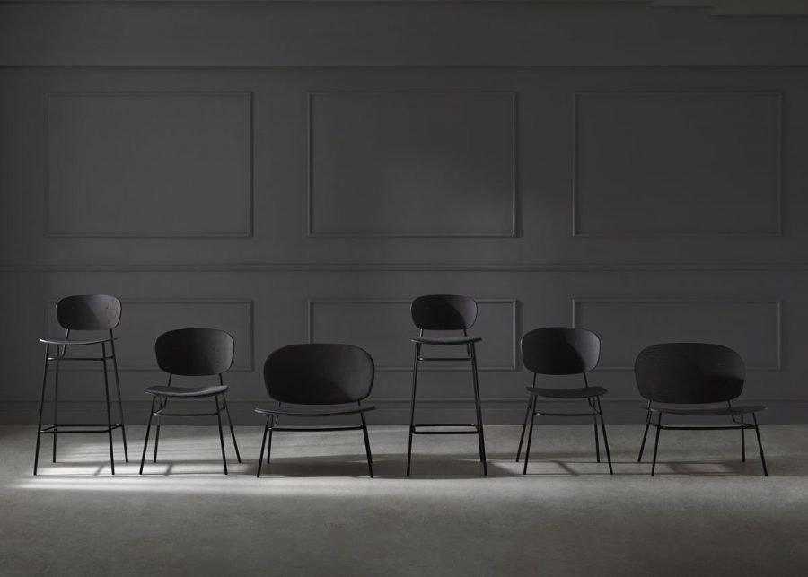 Colección en negro silla fosca blasco vila