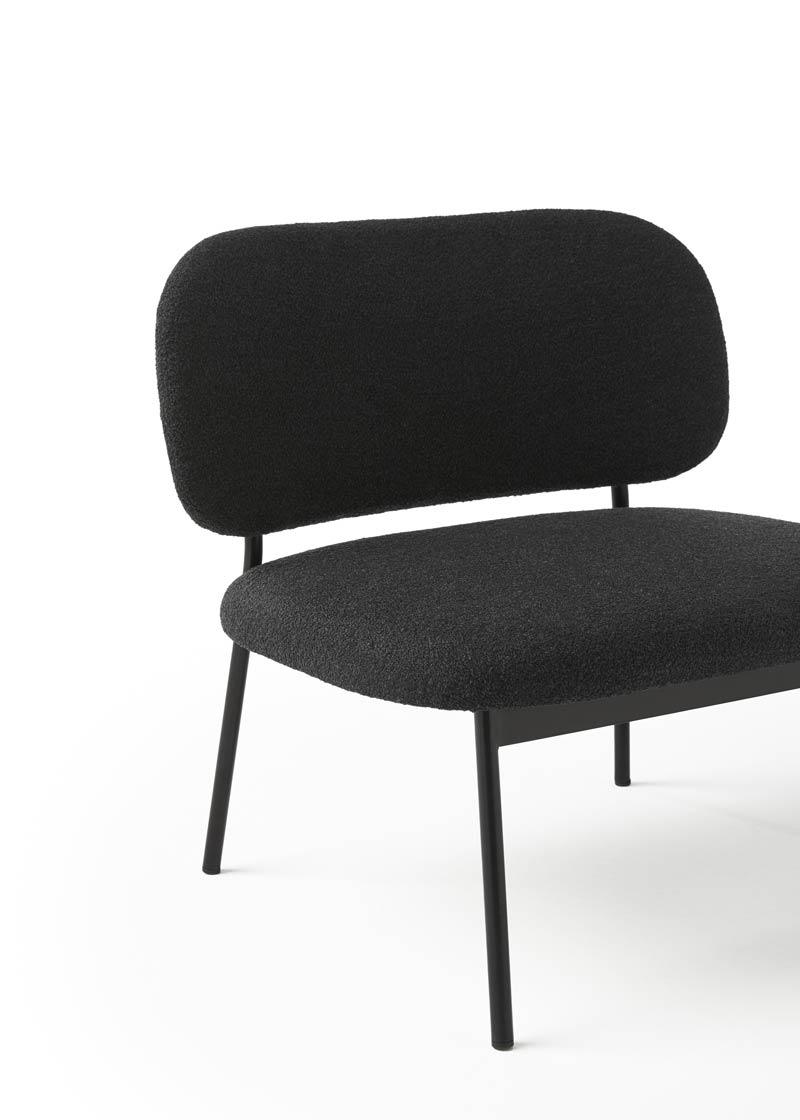 lobby chair RC metal detalle