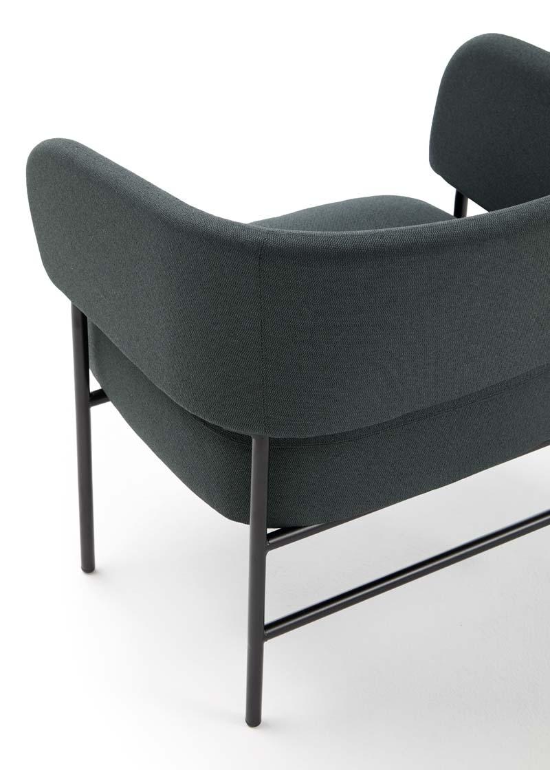 detalle respaldo silla RC Metal Easy Chair