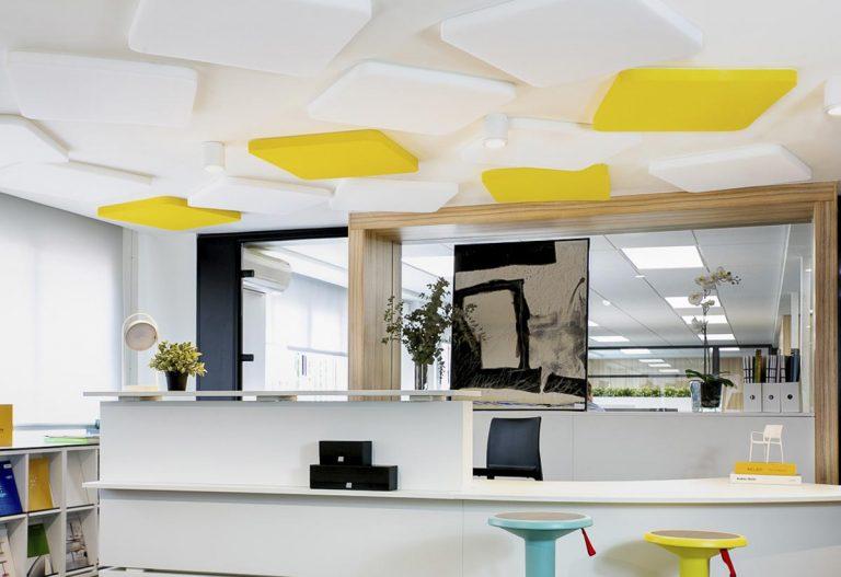 Mejorar el confort acústico en la oficina