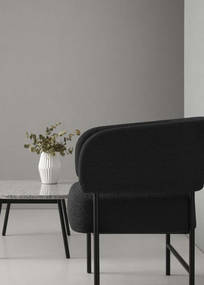Mesa y silla RC Metal Easy Chair