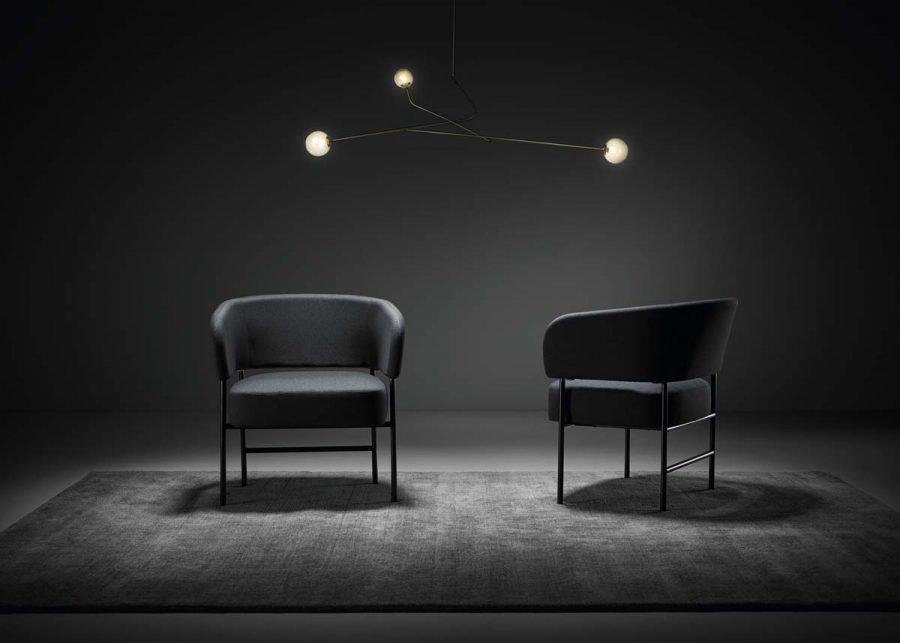 RC Metal Easy Chair