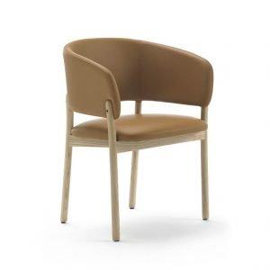 silla con brazos rc wood natural