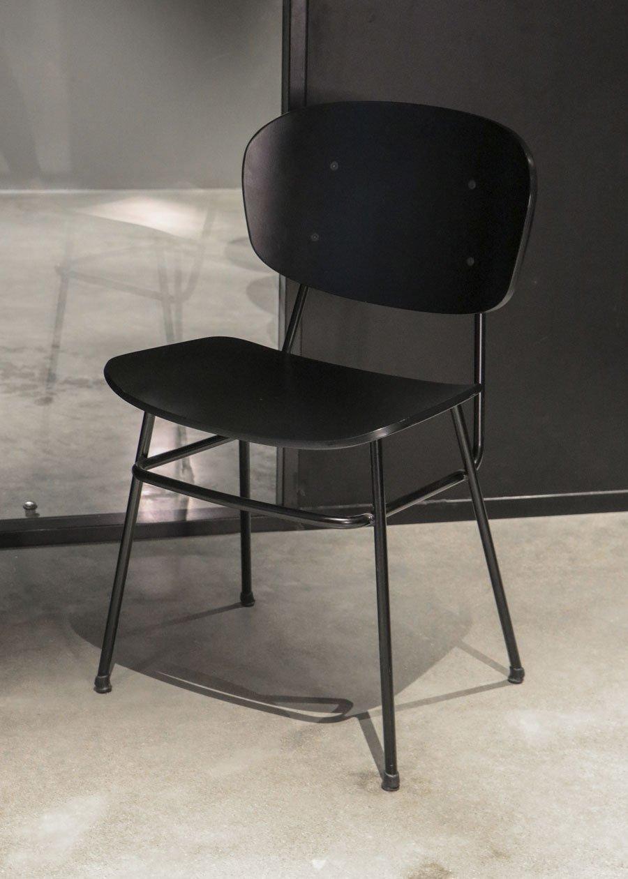 silla fosca negra