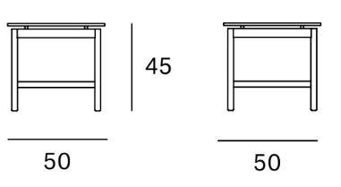 medidas mesa rem 50x50