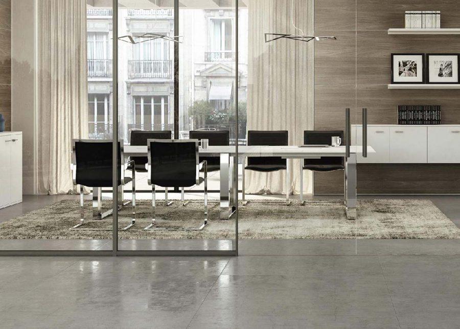 mesa x7 reuniones blanco