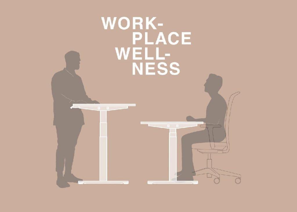 Mesas ajustables en altura. Work Places Wellness