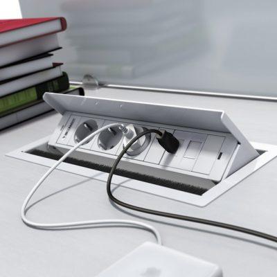 Electrificación Box 2 Tomas + 2 RJ45