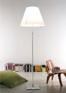lampara costanza pie ambiente libreria