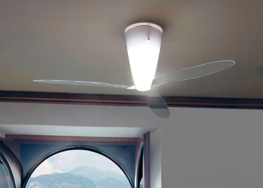 lampara ventilador blow ambiente