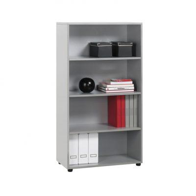 librería premier mediana gris