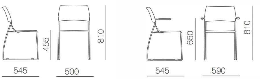 Medidas sillón ados