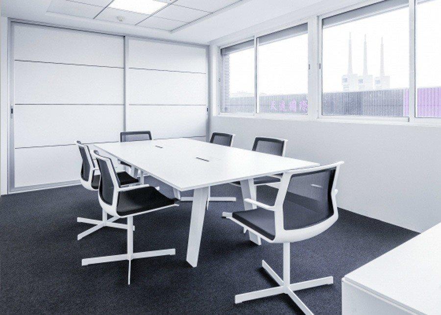 Mesa mahia reuni n laminada ofival equipamiento de oficina for Mesa de reuniones
