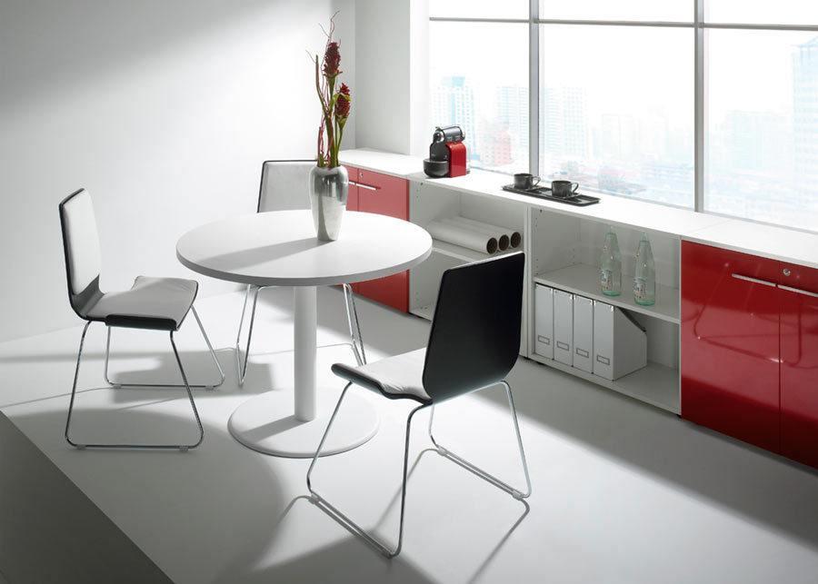 mesa reunión blanco