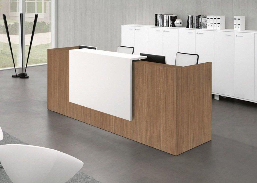 Mostrador z2 de recepci n ofival eshop mobiliario de oficina - Mostradores para oficinas ...