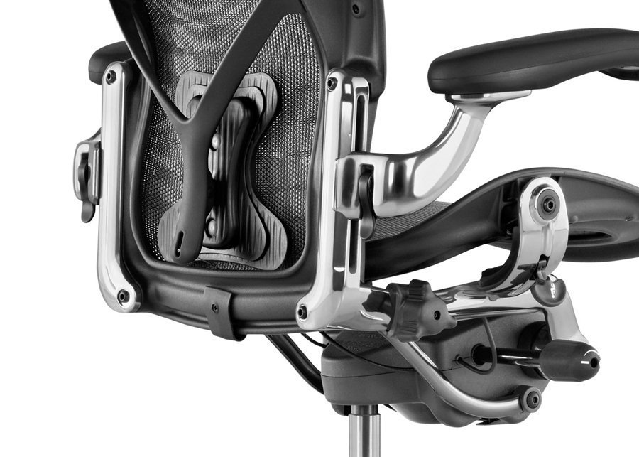 silla aeron executive detalle