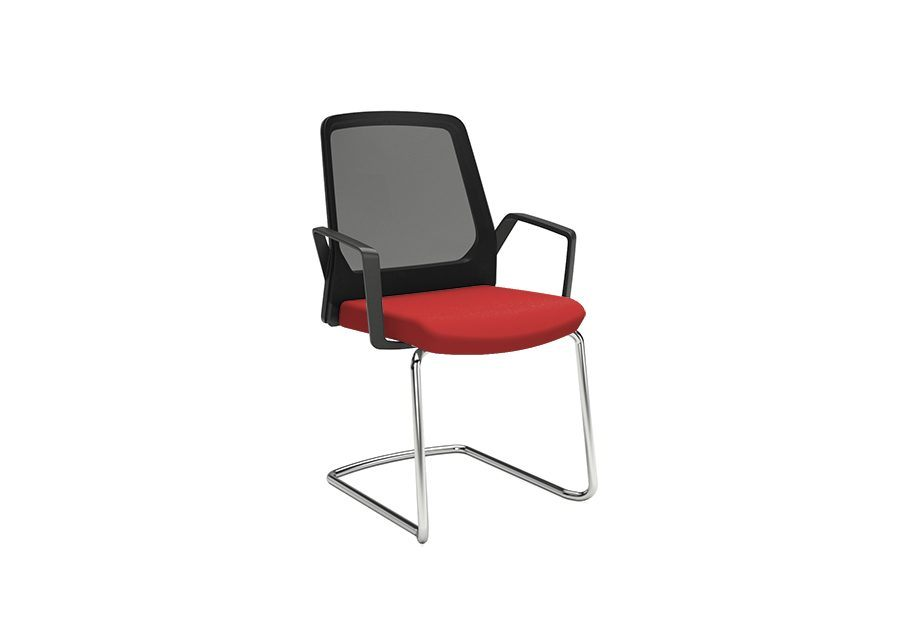silla buddy roja