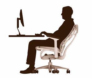 silla embody postura