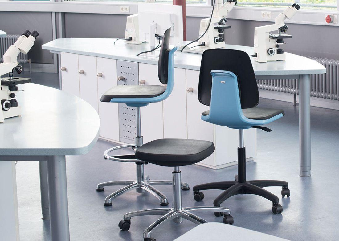 silla labsit para laboratorio ofival equipamiento de