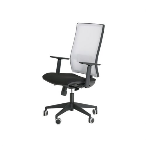 silla light blanco negro