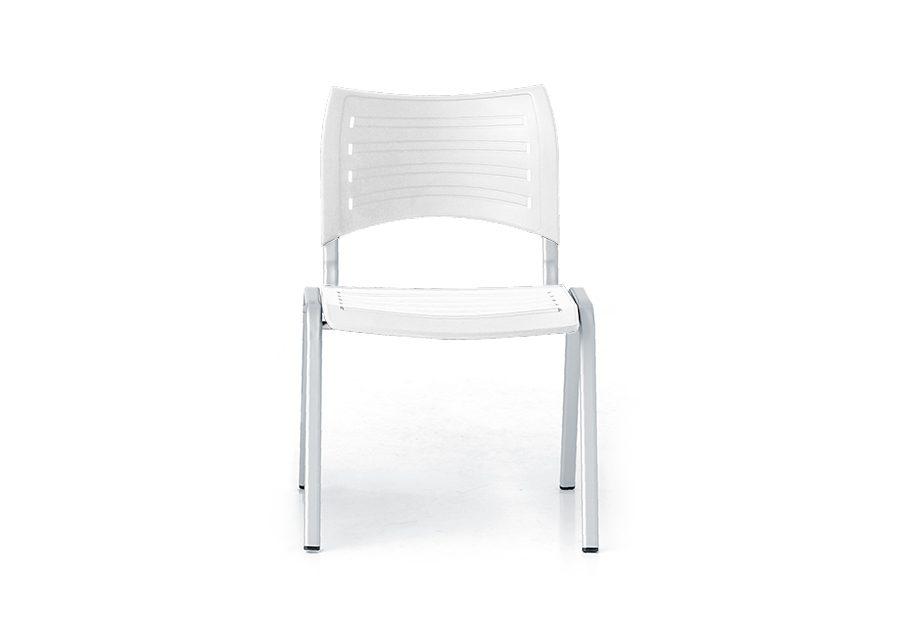 silla modul plata blanco