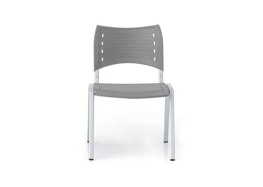 silla modul plata gris