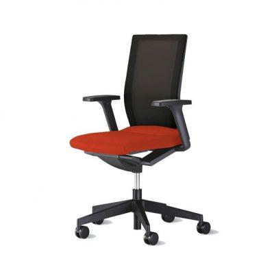 silla oficina neos roja
