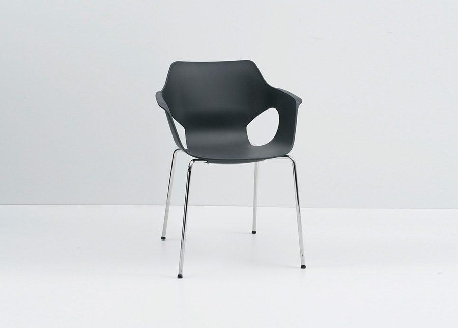 silla olé cromada
