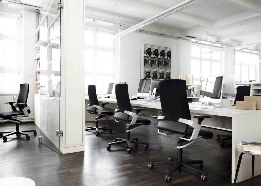 Zona operativa en la oficina