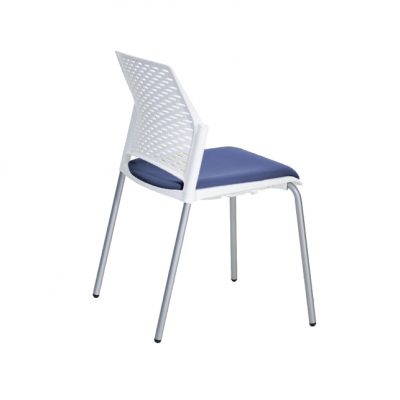silla replay azul trasera