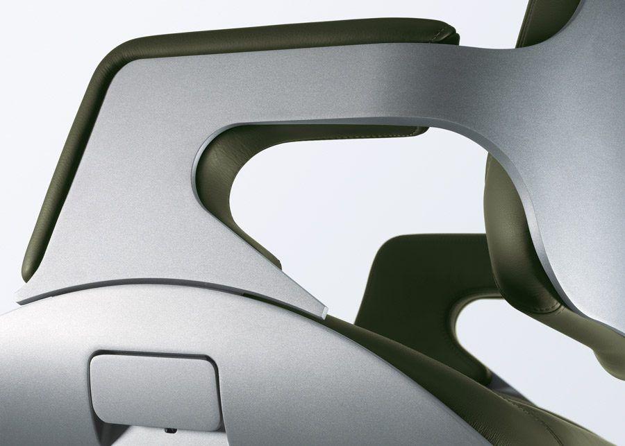 Silla Silver detalle lateral
