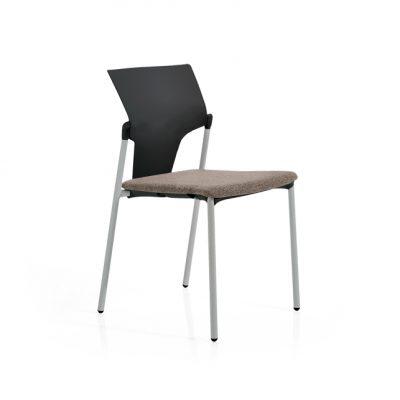 silla zoom negro beig