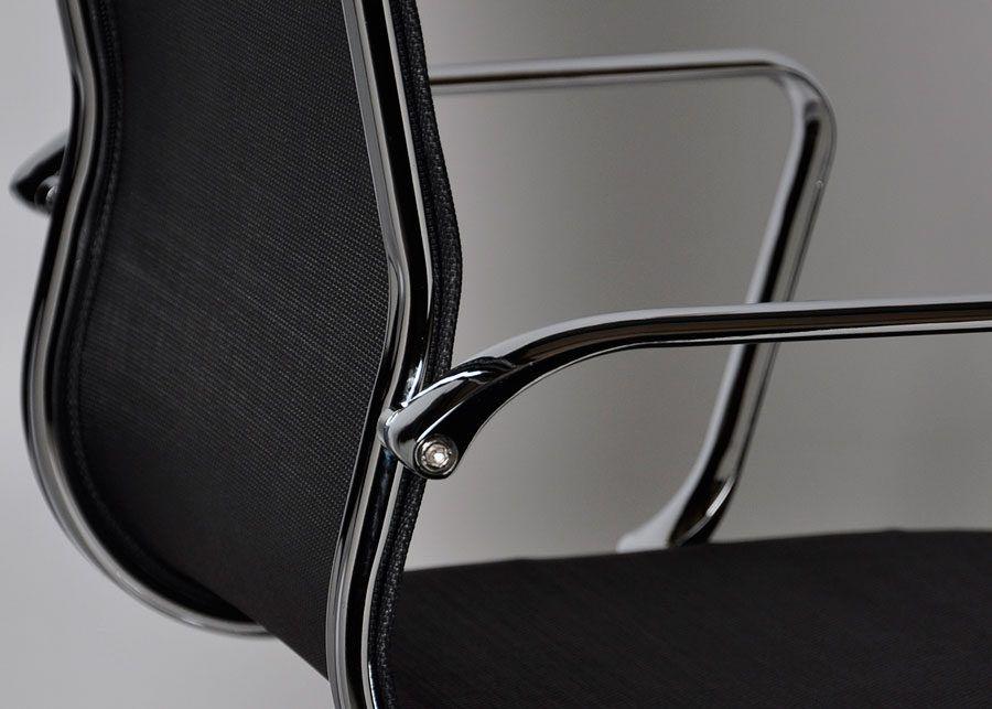 sillón AG1-B Piel detalle respaldo