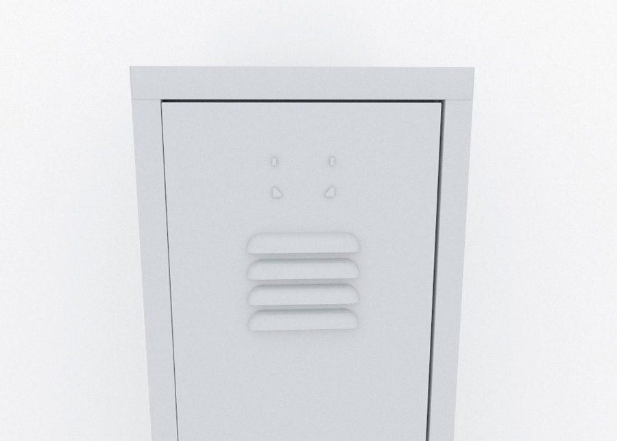 Taquilla Individual Detalle Respiradero