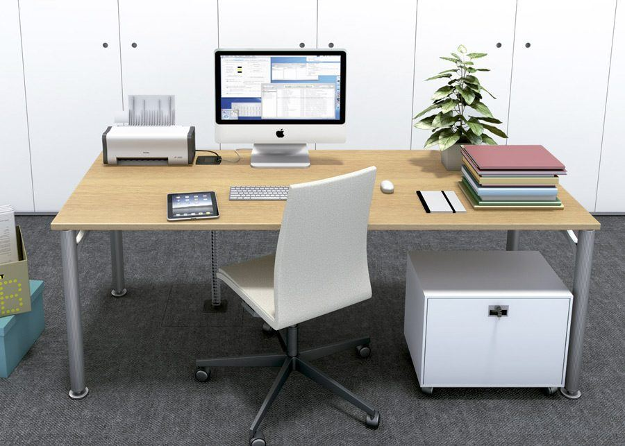 Unit toma eléctrica detalle mesa
